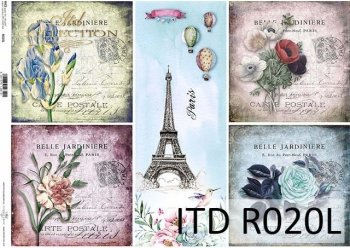 Papier ryżowy ITD R0020L