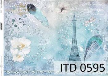 Papier decoupage ITD D0595
