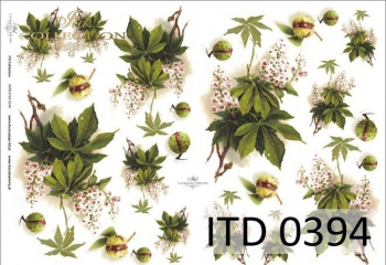 Papier decoupage ITD D0394