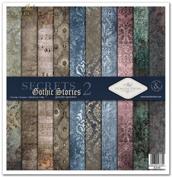 Zestaw do scrapbookingu SLS-040 Gothic Stories 2