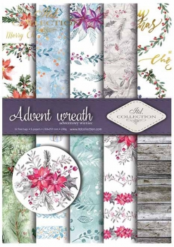 .Papier do scrapbookingu SCRAP-020 ''Advent wreath