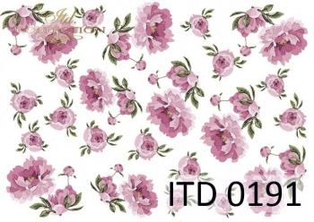 Papier decoupage ITD D0191