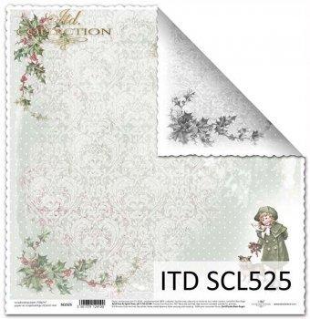 Papier scrapbooking SCL525