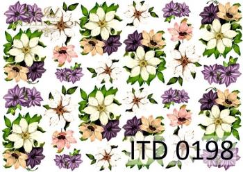 Papier decoupage ITD D0198M