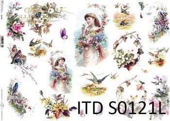 Papier decoupage SOFT ITD S0121L