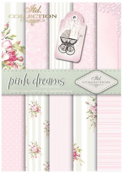.Papier do scrapbookingu SCRAP-042 ''pink dreams''