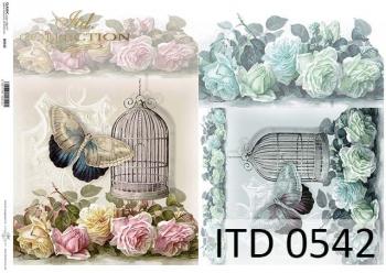 Papier decoupage ITD D0542