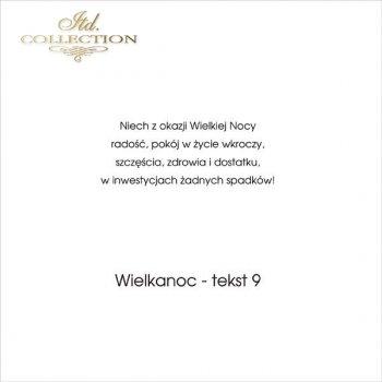 .tekst wielkanocny - 09