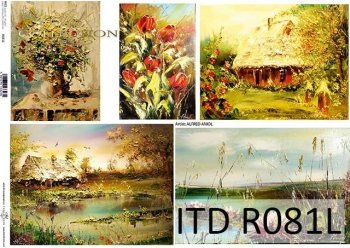 Papier ryżowy ITD R0081L