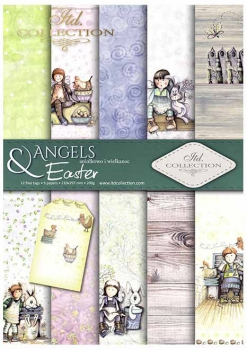 .Papier do scrapbookingu SCRAP-034 ''Angels & Easter