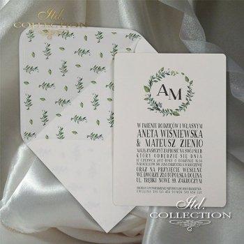 Zaproszenia ślubne / zaproszenie 2065