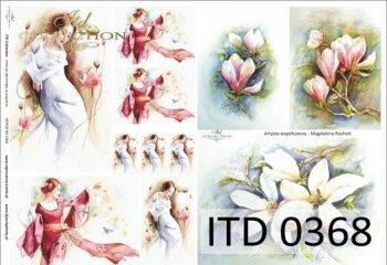 Papier decoupage ITD D0368M
