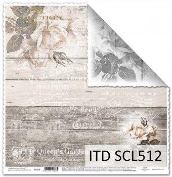 Papier scrapbooking SCL512