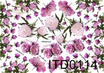 Papier decoupage ITD D0114M