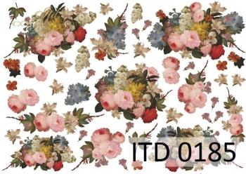 Papier decoupage ITD D0185