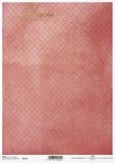 Fondo decoupage papel rojo coral*Korallenroter Hintergrund aus Decoupage-Papier*Декупаж из бумаги кораллово-красного фона