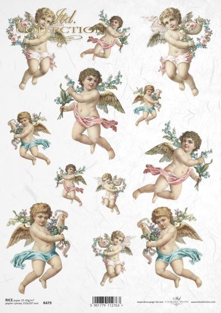 Christmas, cupid, angel, angels, R479