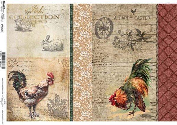 Papel especial para decoupage Pascua*Papír na decoupage Velikonoce*Papier für Decouper Ostern