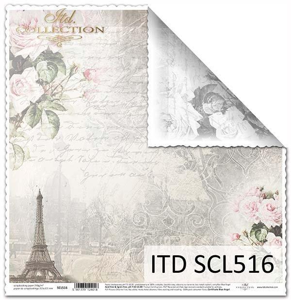 Бумага для скрапбукинга SCL516