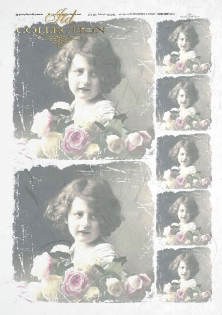 old pictures, children's portrait, children, retro, R262