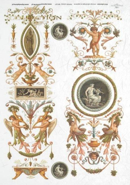 medallion, medallions, antique, flower, flowers, decoration, decorations, ornament, ornaments, R027