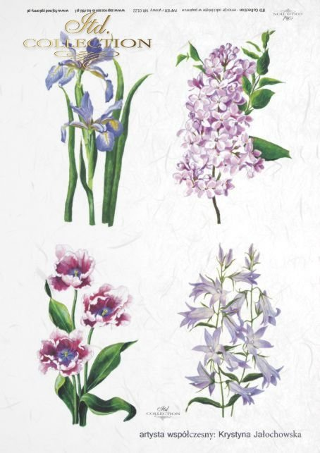 papier-ryżowy-decoupage-kwiaty-ogród-Krystyna-Jałochowska-R0122