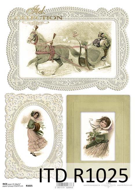 papier decoupage Boże Narodzenie*paper decoupage Christmas