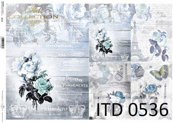 бумага для декупажа классическая D0536
