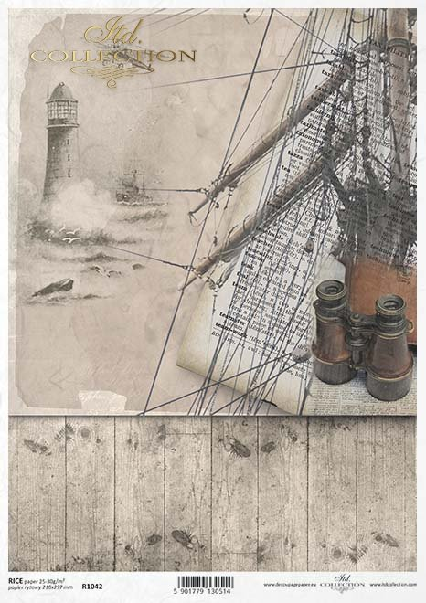latarnia morska, statek, okręt, żaglowiec, żagle, mgła, morze, ocean, żeglarstwo, lina, okrętowa
