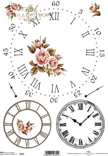 clock, clocks, flowers