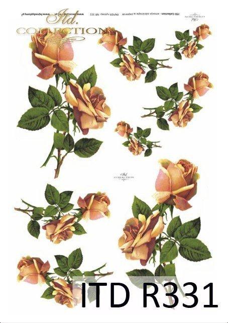 róża, róże, bukiety, kwiaty, R331