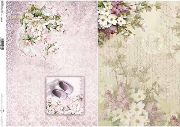 Papier Decoupage Blumenarrangements, für Geburtstage*arreglos florales de papel decoupage, para cumpleaños*бумажные декорирующие цветочные композиции, для дней рождения