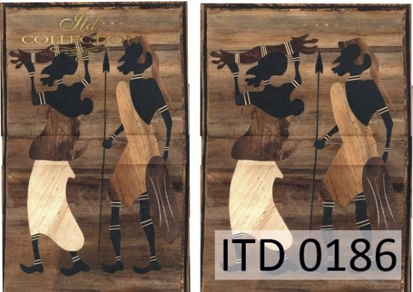 бумага для декупажа классическая D0186