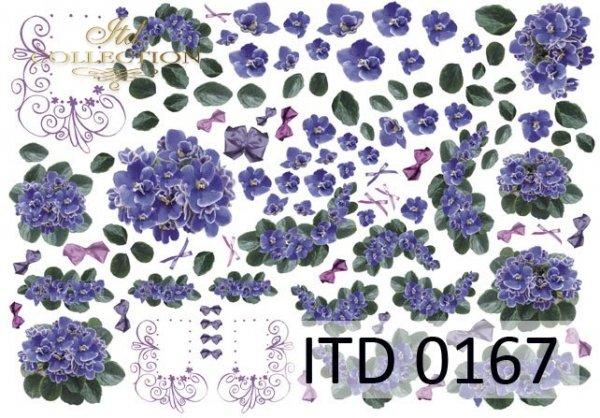 бумага для декупажа классическая D0167