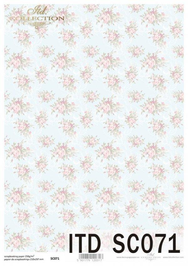 бумага для скрапбукинга SC0071
