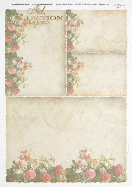 list, listy, papeteria, róże, róża, letter, letters, flower, flowers, rosa, roses, R050