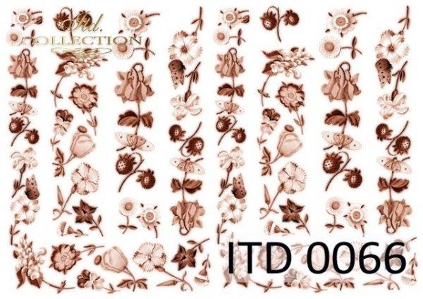 бумага для декупажа классическая D0066