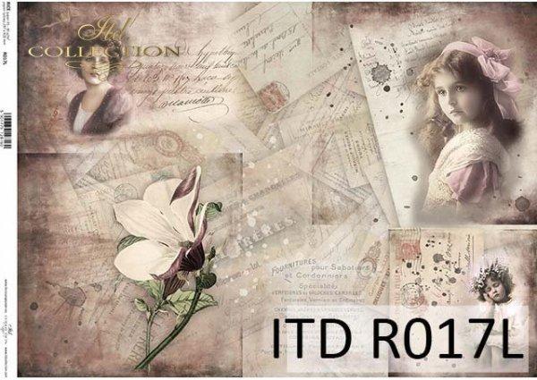 рисовая бумага для декупажа R0017L