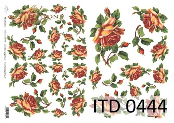 бумага для декупажа классическая D0444