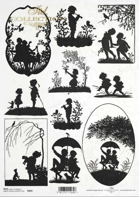 shadow theater, pictures, kids, kids, kids, shadows, black and white