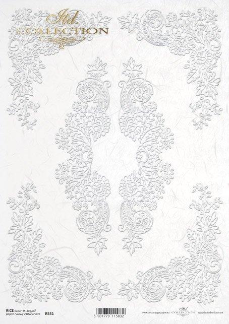 рисовая бумага для декупажа R0551