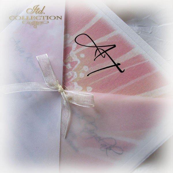 Einladungskarten / Hochzeitskarte 01721_Gerbera