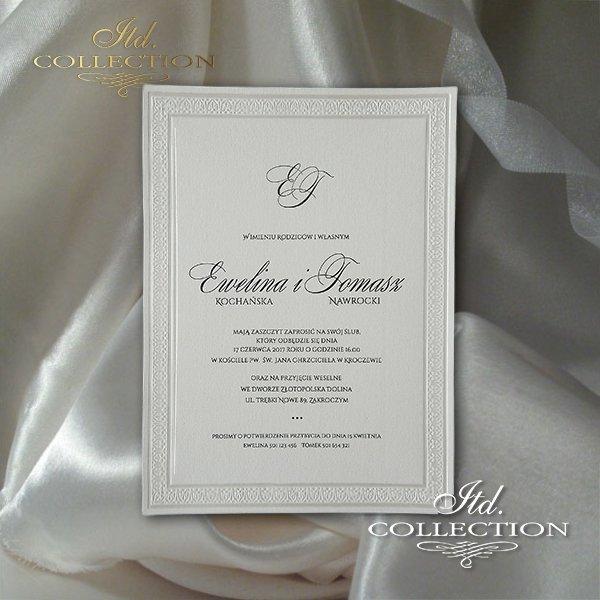 Einladungskarten / Hochzeitskarte 2026