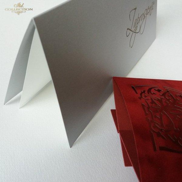 Zaproszenie biznesowe ZB1027 z kopertą 007