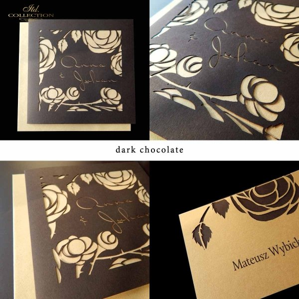 Einladungskarten / Hochzeitskarte 1802