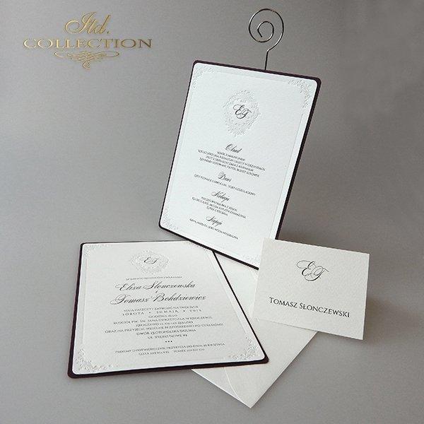Einladungskarten / Hochzeitskarte 2011