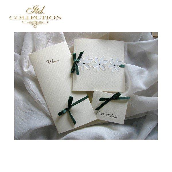 Einladungskarten / Hochzeitskarte 1639