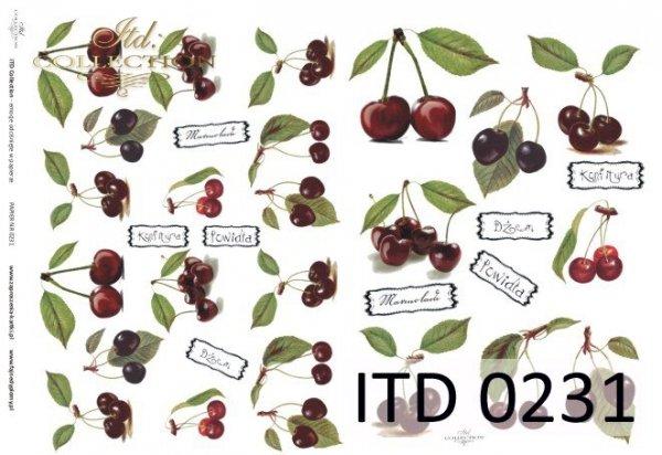 Decoupage paper ITD D0231M