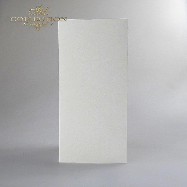 Card Base BDK-007 * cream colour, iridescent paper