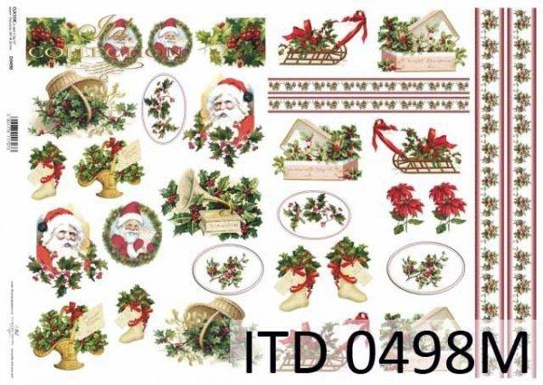 Decoupage paper ITD D0498M